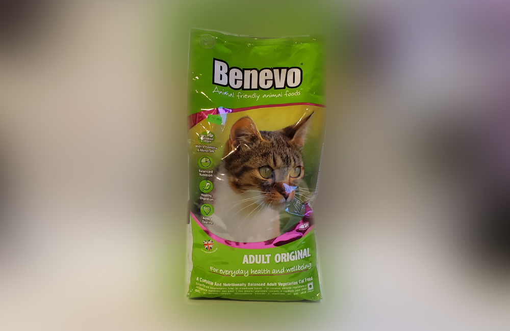 Benevo Vegan Cat Food