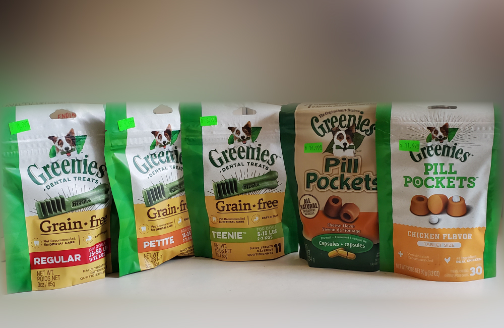 Greenies Dog Treats
